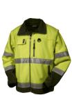 Tranemo Fleece-Jacke 4200 gelb Größe XXL